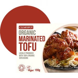 Buy Tofu Various Marinated 190g by Clearspot