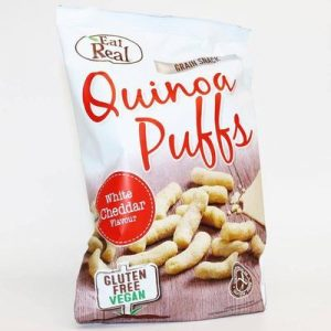 Buy White Cheddar Quinoa Puffs 113g by Eat Real